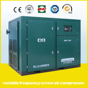 75kw Permanent Magnetic Frequency Screw Air Compressors with Receiver Tank and Dryer pictures & photos