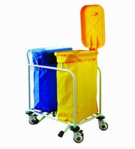 Medical Equipment Sewage Collection Medical Trolley (N-16) pictures & photos