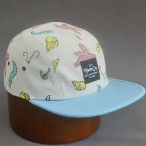 Cotton Camper Cap with Woven Label pictures & photos