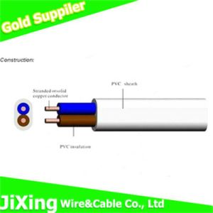 300/500V Africa Market Copper Conductor Flat Cable 2cores pictures & photos