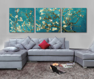 3 Piece Hot Sell Modern Wall Painting Van Gogh Painting Home Decorative Wall Art Picture Painted on Canvas Home Prints Mc-196 pictures & photos