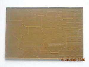 Bronze Patterned Glass (BR004)