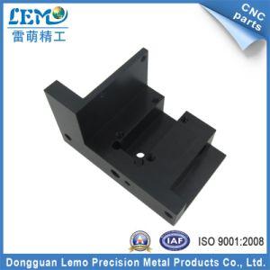 Precision Aluminum Black Anodized CNC Machinery Part (LM-1064A) pictures & photos