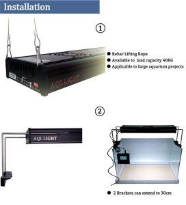 Color Changeable 120cm LED Aquarium Light for Saltwater Reef Tank pictures & photos