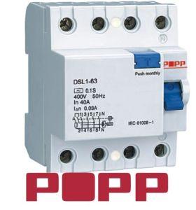 Residual Current Circuit Breaker (DSL1-63)