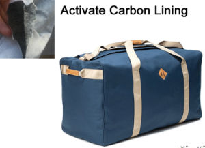 Smell Odor Proof Sport Travel Duffel Bag with Carbon Lining pictures & photos