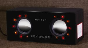 MP3 Speaker with LED Light Design (MD-W91)
