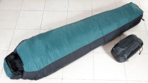 Camping Sleeping Bag, Double Layer 3D Cotton Sleeping Bag (HWB-120G) pictures & photos