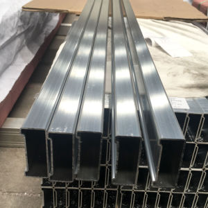 Aluminum Extrusion Pipe for Ladder Frame pictures & photos
