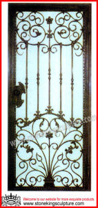 Steel Entrance Door/ Wrought Iron Doors pictures & photos