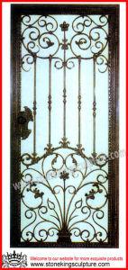 Steel Entrance Door/ Wrought Iron Doors pictures & photos