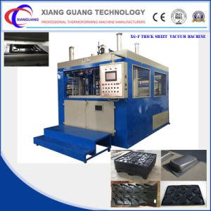 Semi Automatic Plastic Thick Sheet Vacuum Thermoforming Machine pictures & photos