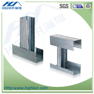 Galvanized Steel Frame Stud Track Profile Main Metal Channel pictures & photos