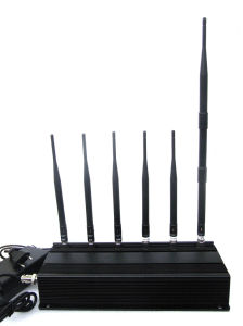 6 Antenna Cell Phone Lojack RF Jammer GSM, CDMA, Dcs, PCS, Lojack, RF315MHz433MHz (8241) pictures & photos