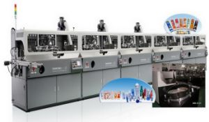Full Automatic UV Bottle / Container Screen Printing Machine (SZD-102A)