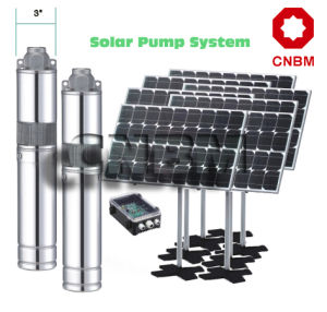 DC Borehole Solar Water Pump pictures & photos