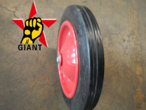 "13 Inch Wheelbarrow Solid Rubber Wheel (13""X3"")"
