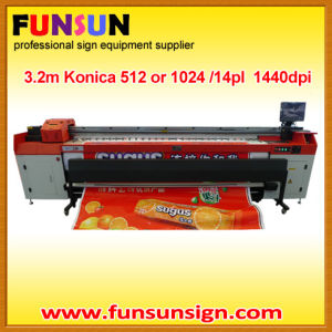 JHF Vista 3.2m Konica Head Solvent Printer 1440dpi pictures & photos
