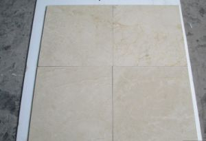 Decoration Material Spanish Jura Beige Marble Cream Marfil Marble Tile