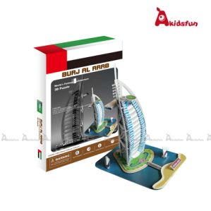Burj Al Arab Dubai -3D Paper Puzzle (LPT-02)