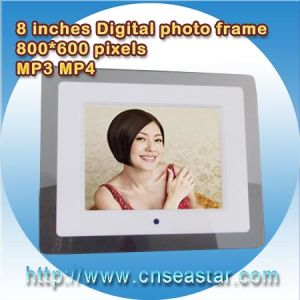 8 Inches LCD Premium Digital Photo Frame, 800 * 600, SD/MMC (S-DPF008A)