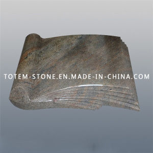 Wholesale Granite Stone Cemetery Monument & Tombstone with Book Shape pictures & photos