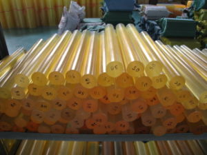 Polyurethane Rod, PU Rod with Yellow Color pictures & photos