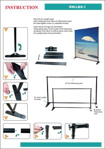 Display Stand New Item (DW-LBS-1 90-240cmH*91-300cmW) pictures & photos