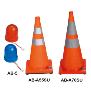 Solar Expandale Safety Cone (AB-A70SU-1 / AB-A55SU-1) pictures & photos