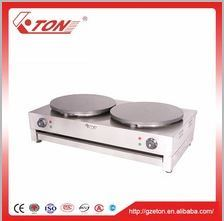 Multi-Function 2-Plate Gas Crepe Machine for Sale pictures & photos