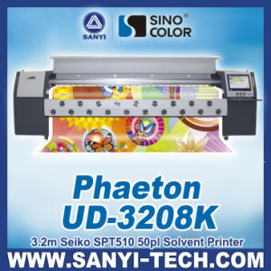 Outdoor Printing Machine with Seiko Head Phaeton Ud-3278k, 3.2m Size pictures & photos