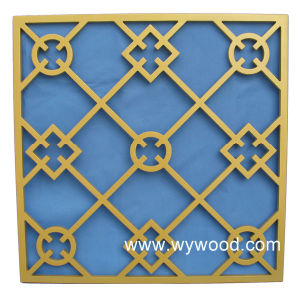 Carved Grille MDF Wooden Decorative Panel (WY-71) pictures & photos