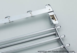 Bathroom Accessory Towel Rack in Chrome pictures & photos