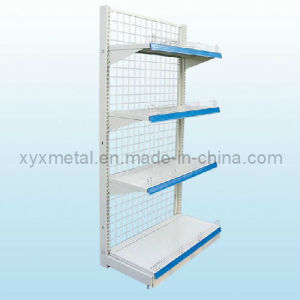 Metal Wire Mesh Singel (double) Side Supermarket Shelves pictures & photos