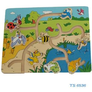 Wooden Puzzle (TS 6536) pictures & photos