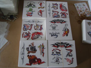 2017 OEM Body Custom Temporary Hand Tattoo Sticker pictures & photos
