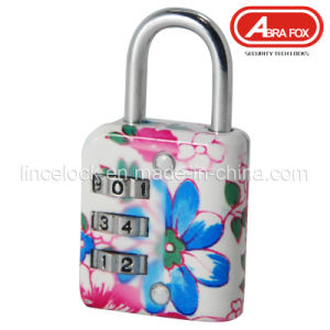 Zinc Alloy Colour Heat Plated Design Combination Padlock (802-2) pictures & photos