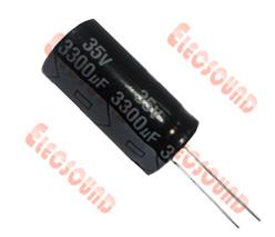 Standard Radial Aluminum Electrolytic Capacitors (CD110) RoHS