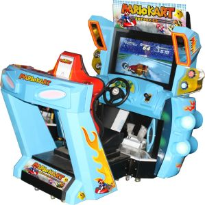 2016 Hot Selling Dragonwin Arcade Coin Operated Simulator Electronics Driving Car Game Machine pictures & photos