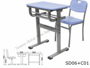 Plastic School Desk (SD06+C01)