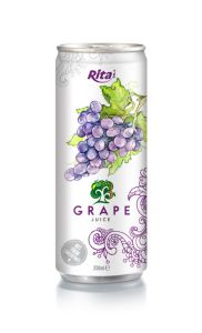 250ml Alu Can Grape Juice pictures & photos