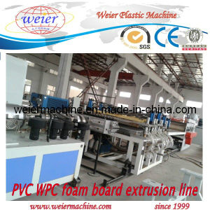 PVC Crust Foamed Board Extrusion Line pictures & photos