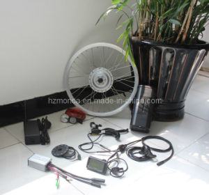 E Bike Kit with 20inch Front Brushless Gear DC Hub Motor Wheel Kit pictures & photos