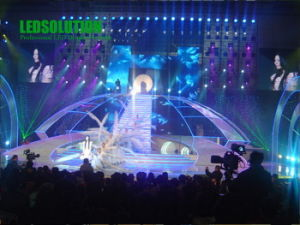 LED Outdoor Curtain Display/Screen for Stage & Show (LS-OC-P25) pictures & photos