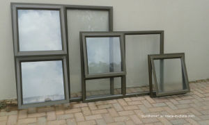 Silver Anodised Aluminium Glass Windows with Multiple Openings pictures & photos