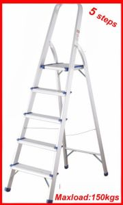5 Steps Household Aluminium Ladder pictures & photos