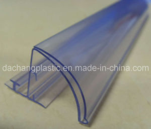 30mm High Bullnose Clear Plastic Shelf Talker