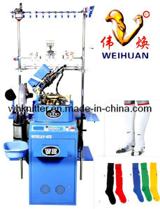 Weihuan (WH) 4.5 Inch Automatic Circular Knitting Machine for Football Socks (WEIHUAN-6FR) pictures & photos