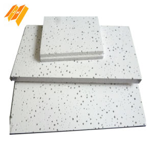 Acoustic Mineral Fiber China Armstrong Tiles Price (12, 14, 15mm) pictures & photos