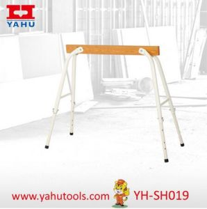High Quality Work Bench Folding Adjustable Wooden Sawhorse (YH-SH019) pictures & photos